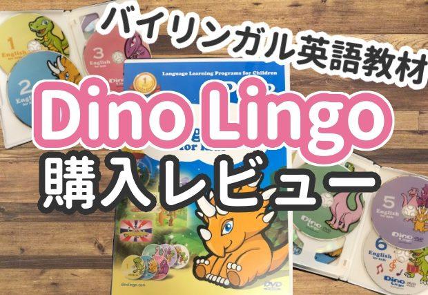 【Dino Lingo】の購入レビュー!内容や効果をくわしく解説。