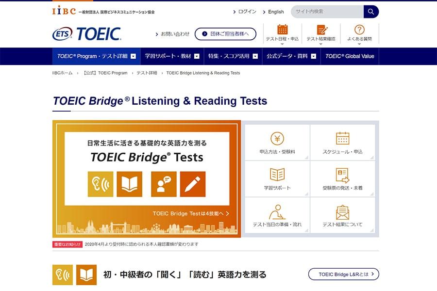 TOEIC Bridge Listening & Reading