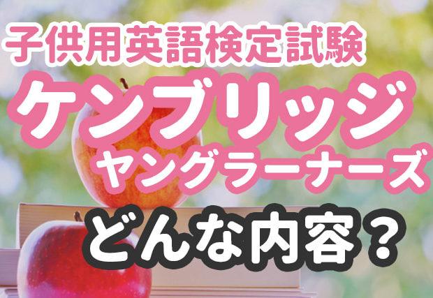 ケンブリッジ英検【YLE】は小学生にぴったり! 特徴やレベルを詳しく解説!