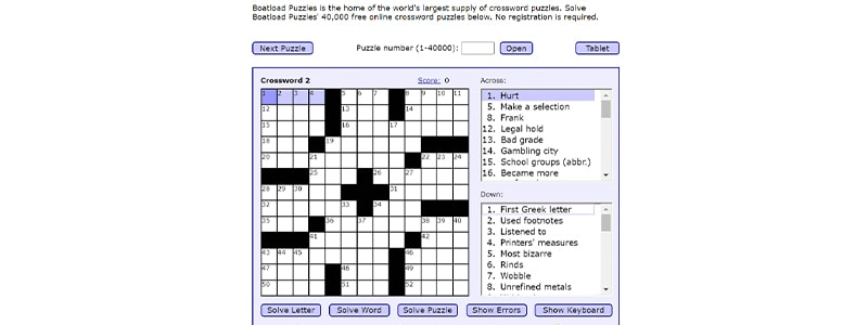 【Boatload Puzzles】スクリーンショット