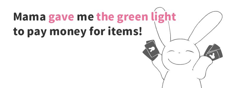 give the green light(~に許可を与える)