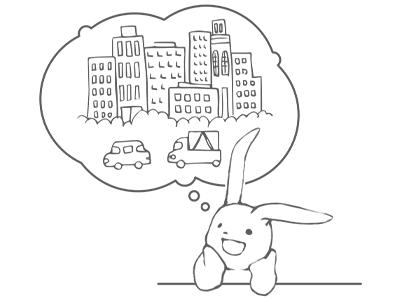 「都会の」の英語表現