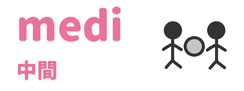【medi】中間